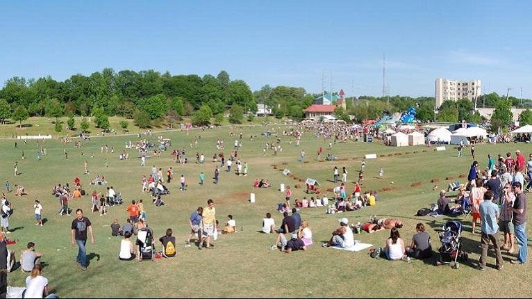 Festivals at Piedmont Park in Atlanta, GA