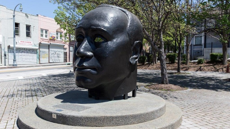 Through His Eye - Photo Courtesy: City of Atlanta Office of Cultural Affairs Public Art Program