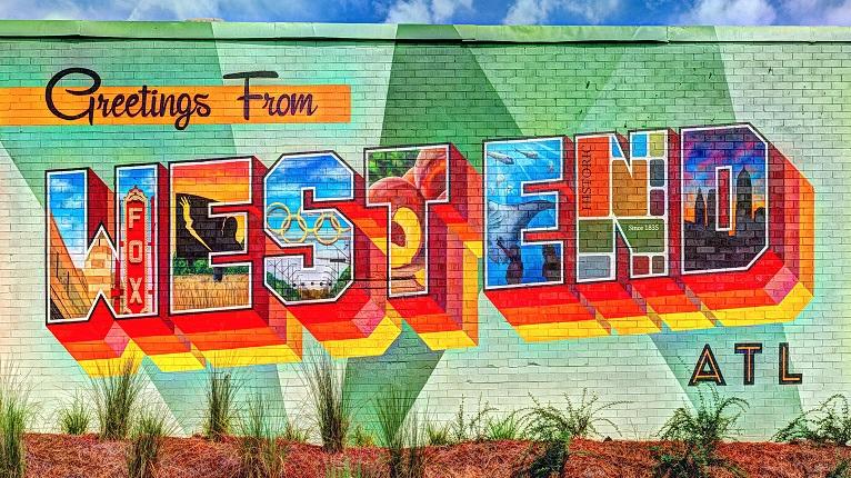 Atlanta Westside Beltline Mural