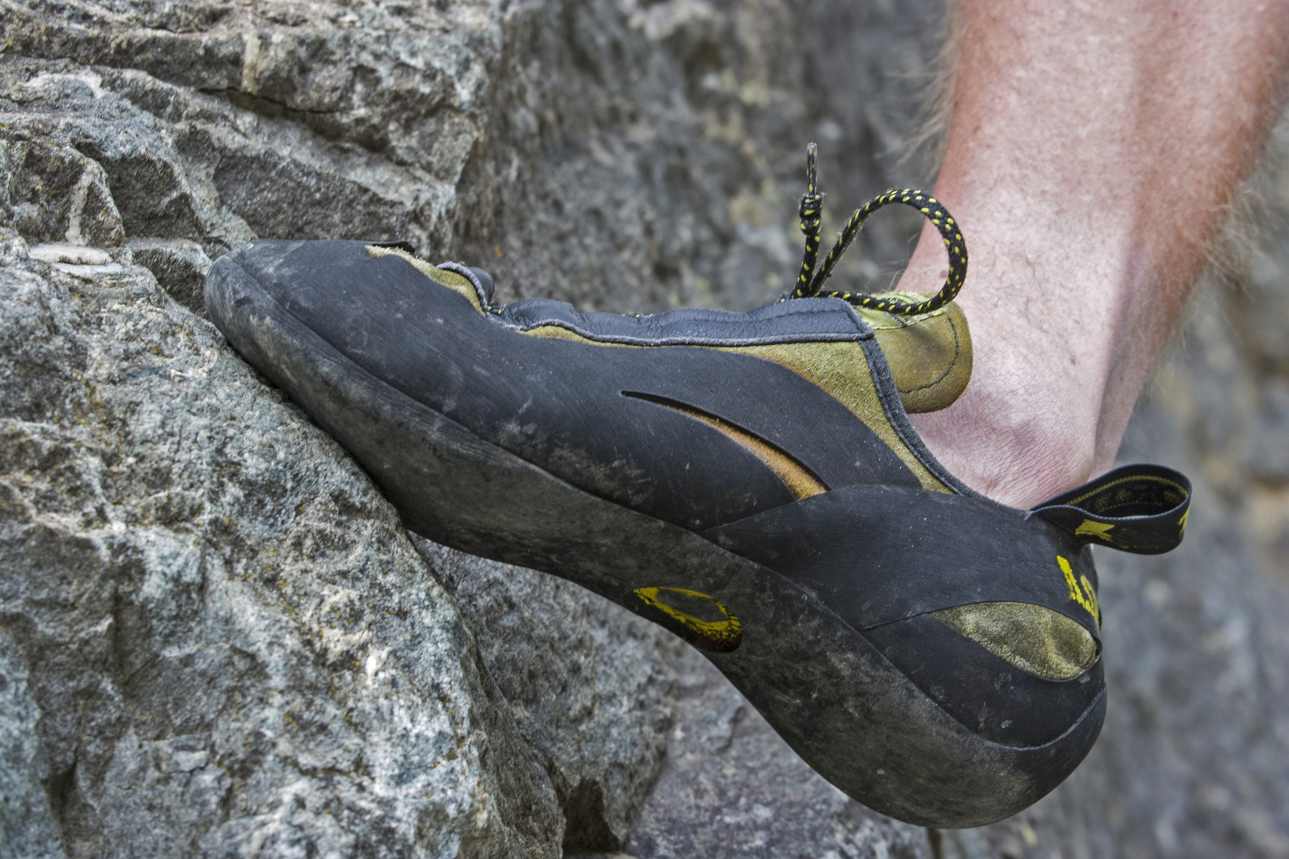 Rock climbing at Boat Rock Bouldering Area
