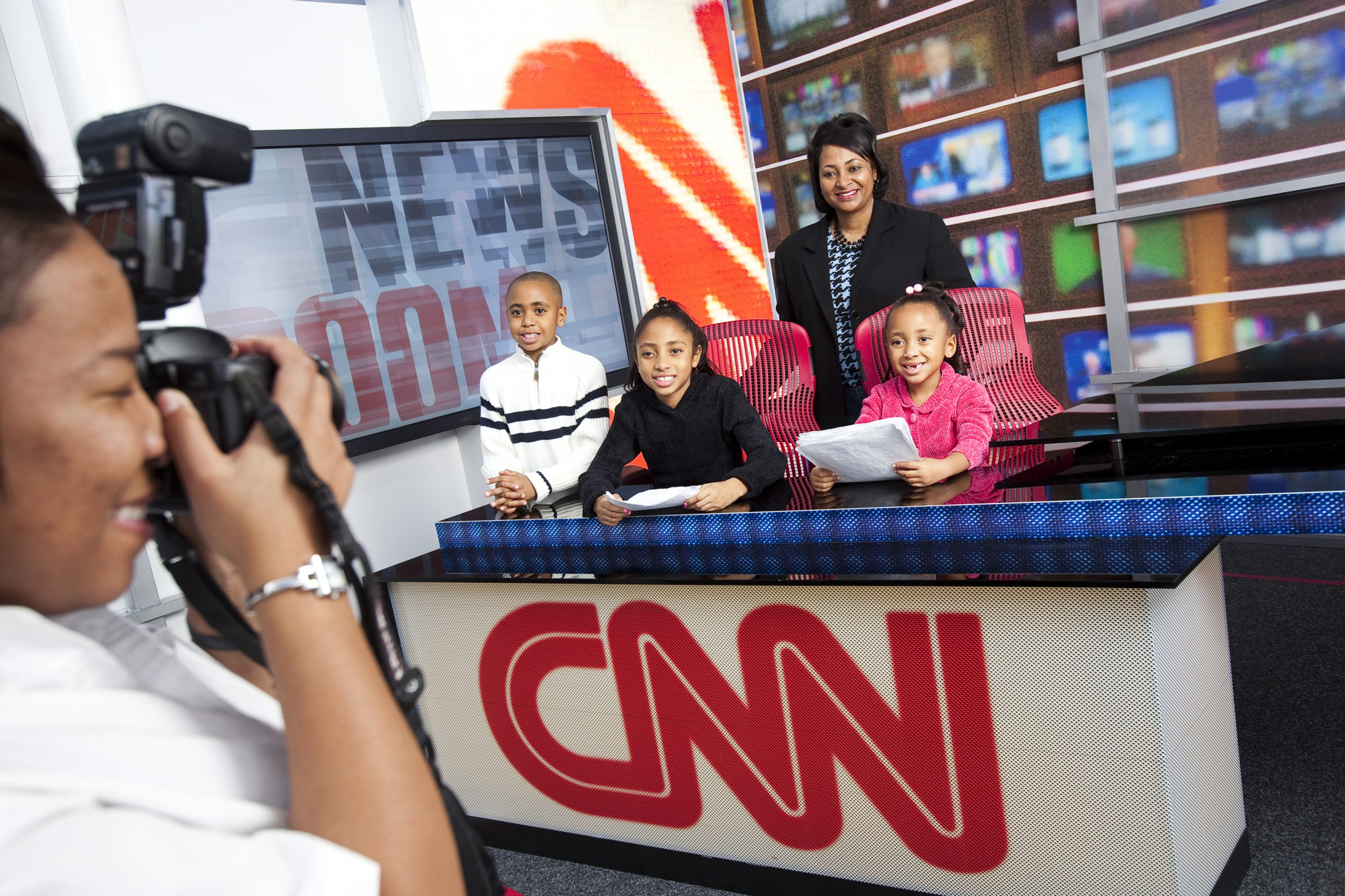 Sit behind the anchor desk and find your inner journalist at the CNN Studio Tour in Atlanta