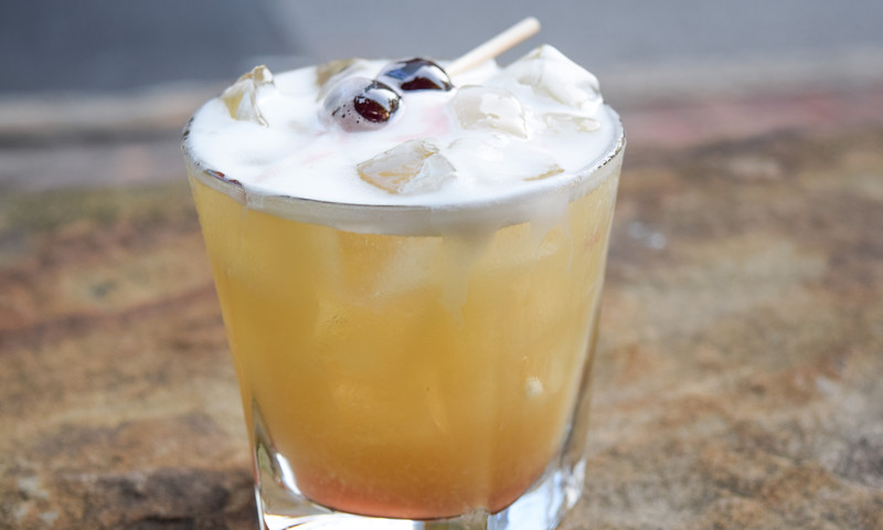 A cocktail from Einstein's in Atlanta.